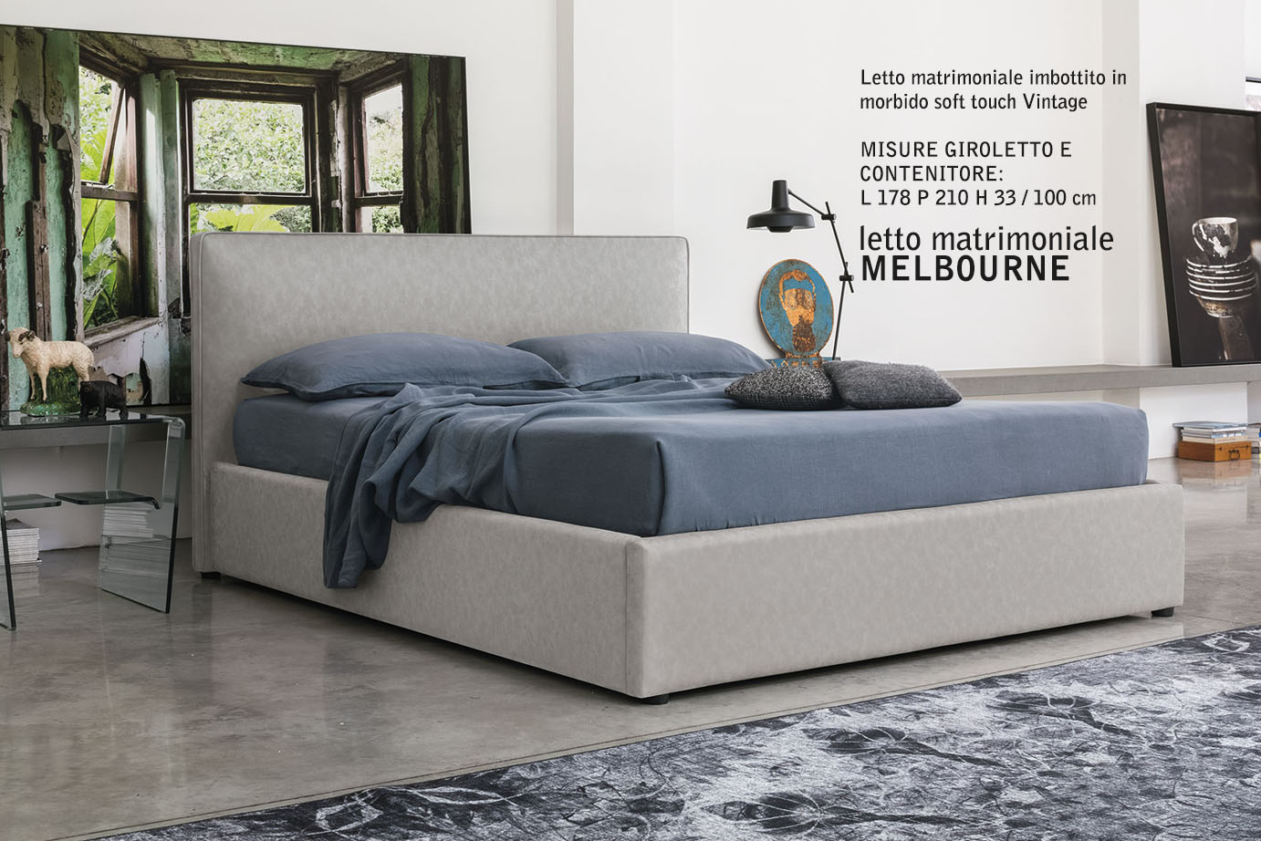 Giroletto Matrimoniale.Melbourne Double Bed Target Point